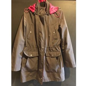 Women's Nautica lined rain jacket